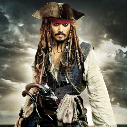 JOHNNY DEPP- JACK SPARROW OF THE SEVEN SEAS